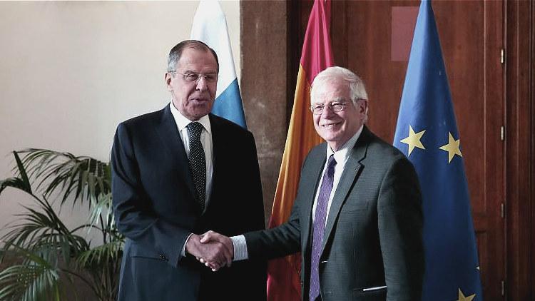 Лавров пригласил главу МИД Испании посетить Россию с ответным визитом