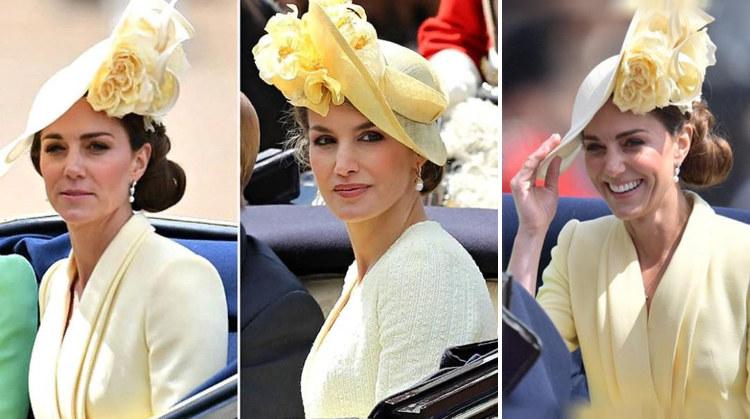 Кейт Миддлтон повторила образ испанской королевы Летисии
