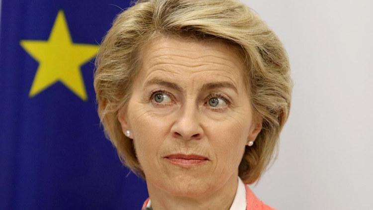 Урсула фон дер Ляйен. Глава Еврокомиссии с мыслями о плане Маршалла для спасения Евросоюза