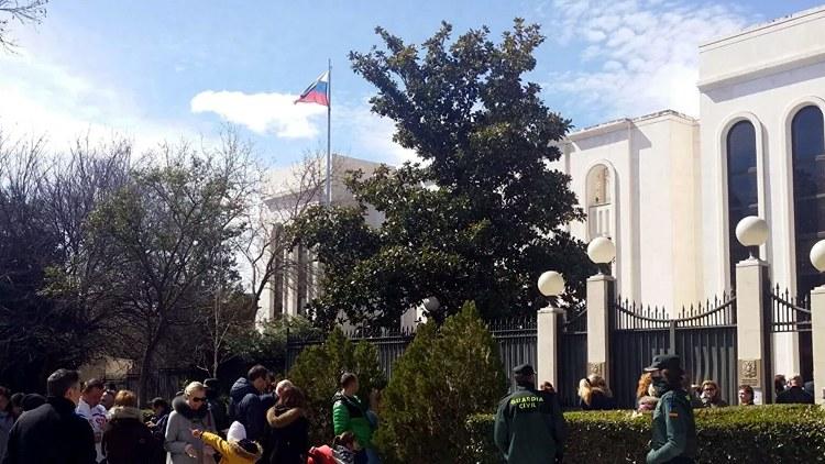 Посольство и консульство РФ в Мадриде