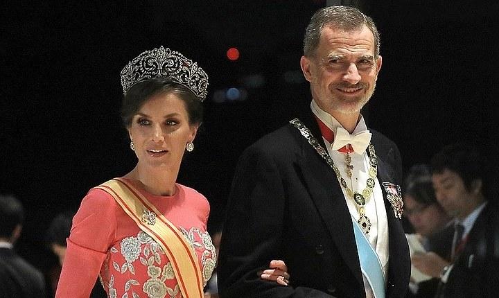 Король Фелипе Шестой и королева Летисия