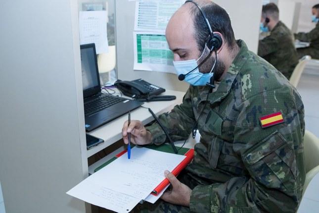 Los militares vigilan la entrada en España de las variantes brasileña y sudafricana del covid