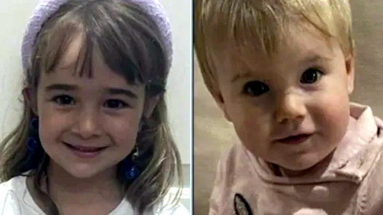Слева 6-летняя Оливия, справа годовалая Анна / A la izquierda, Olivia, de seis años; a la derecha, Anna, de uno