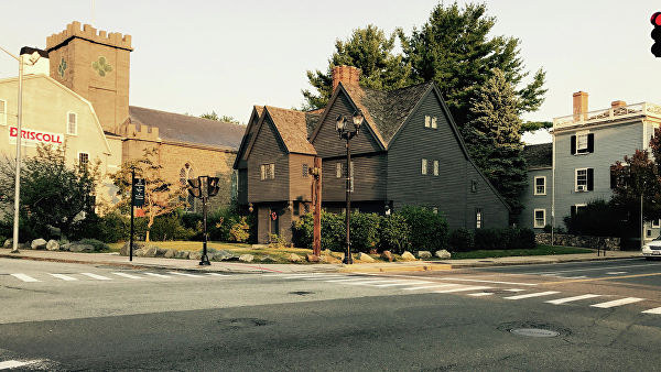 Дом ведьм в Салеме, США