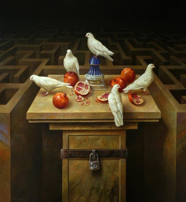 Таинственные лабиринты Альберто Панкорбо